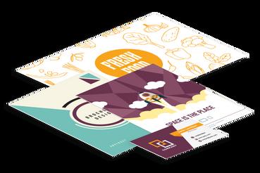 Stampati di ogni tipologia: Qualità Professionale per la tua attività: Vuoi stampare dei prodotti per il tuo hotel o ristorante? Scegli Sprint24, la tipografia online per la stampa di portaconto, tovagliette, blocchi appunti, hangdoor o biglietti riservati di livello professionale, a piccoli prezzi!