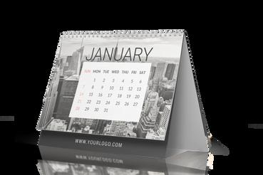 Calendari da tavolo - template libero