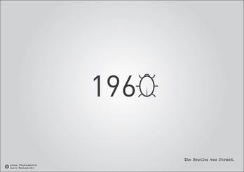 Date storiche in veste tipografica: Quante volte, a scuola, ci sarebbe piaciuto avere bene in mente le date più importanti durante le interrogazioni? Qualcosa che aiutasse la nostra memoria fotografica? I due designer georgiani Levan Patsinashvili e David Babiashvili hanno creato ...