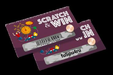 Inventa le tue Scratch Card con codice online con Sprint24: Con codice a barre o alfanumerico, per giochi o promozioni, personalizza le tue scratch card su Sprint24: la convenienza della qualità è online