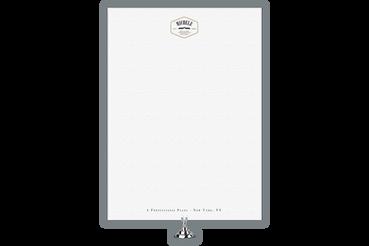 Fogli di Carta Intestata con Michele Letterpress, un segno distintivo: Stampa i tuoi prodotti intestati per corrispondenze con Michele Letterepress, carta e fogli impressi a caldo e a secco per mettere in risalto la tua identità