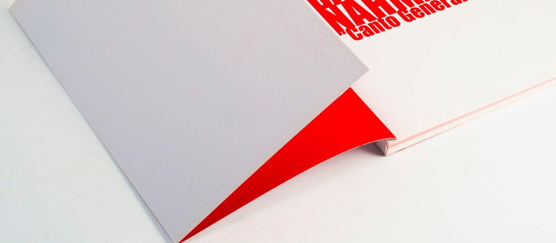 Catalogo mostra Barbara Nahmad: Stampa: 4 colori Carta interno: patinata opaca 170 gr Carta copertina: patinata opaca 350 gr  Lavorazioni: verniciatura offset; plastificazione lucida; filorefe; bandella (dettaglio bandella)