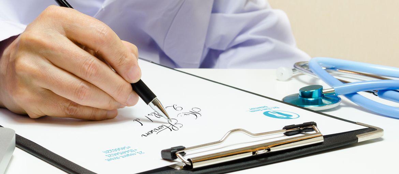carta intestata dottore