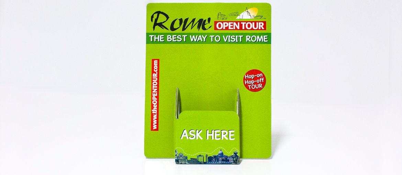 espositore cartonato rome